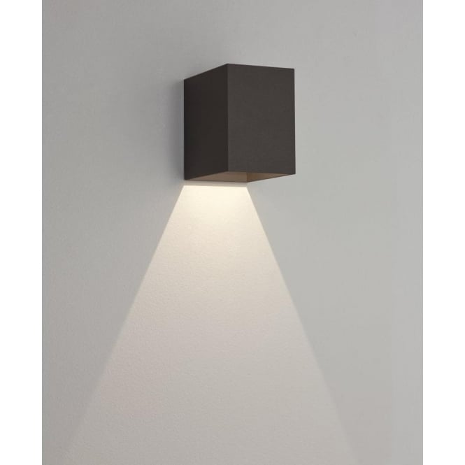 Astro Lighting Oslo 100 Single Light LED Outdoor Wall Fitting In Black Finish