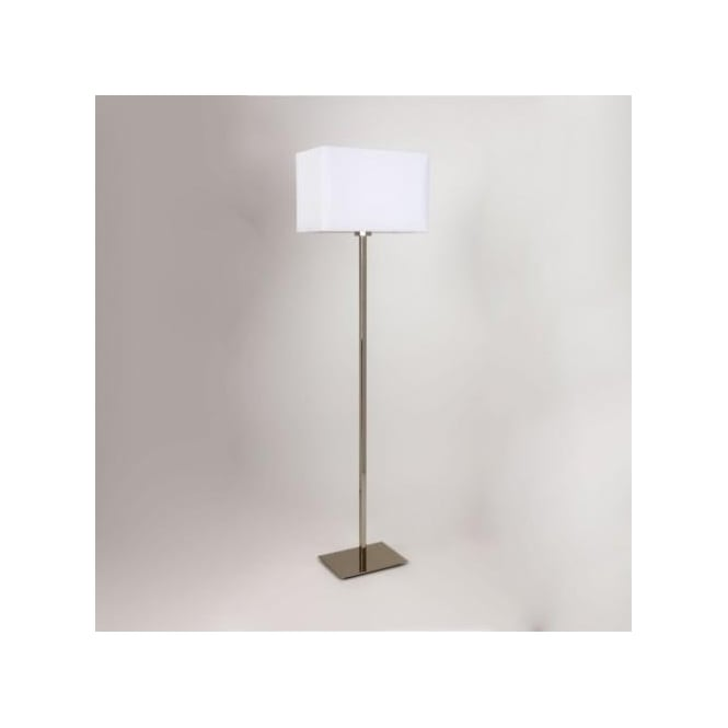 Astro Lighting Park Lane Single Light Floor Lamp Base Only In Polished Chrome Finish