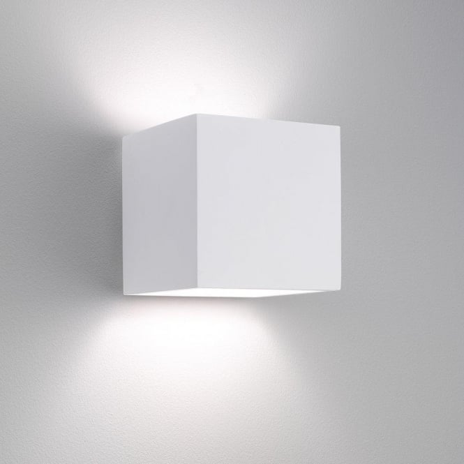 Astro Lighting Pienza 140 Single Light Ceramic Wall Fitting in White Finish