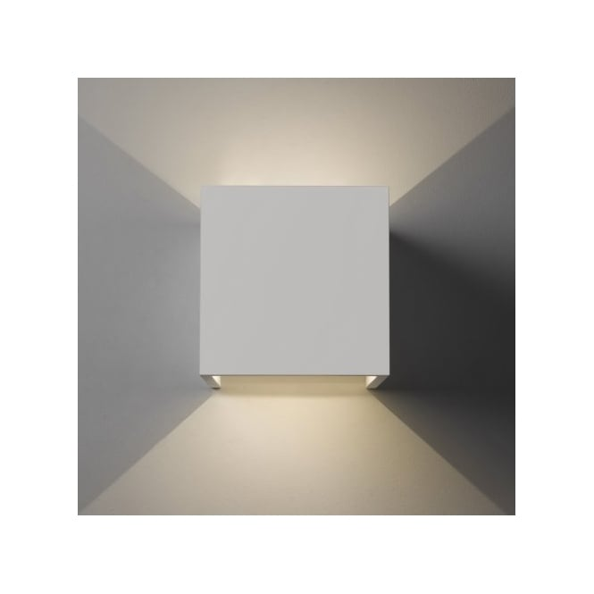 Astro Lighting Pienza 2 Light LED Wall Fitting in White Ceramic Finish