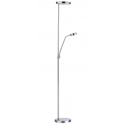 Dar Lighting Pioneer Mother And Child Led Floor Lamp In