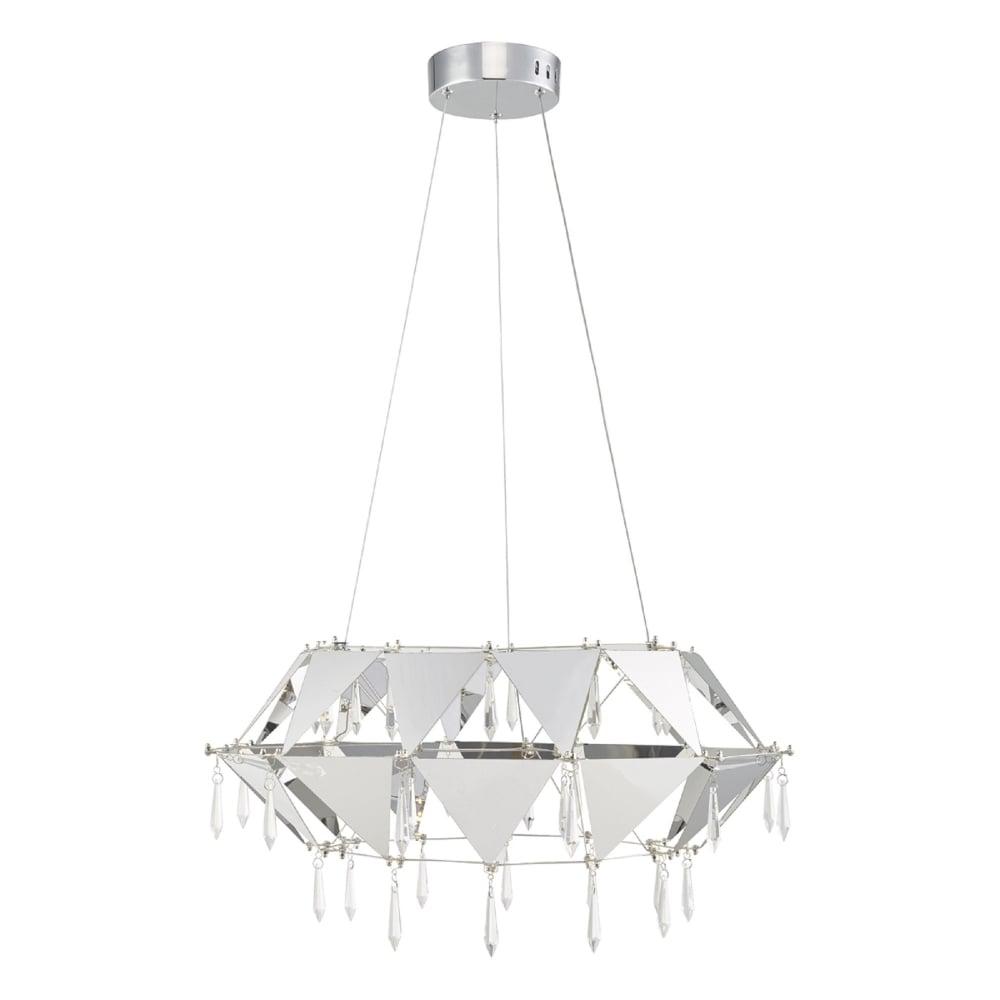 Dar Lighting Potenza Single Dimmable LED Ceiling Pendant