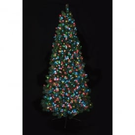 Premier Decorations 1000 Multi-Coloured LED Tree Timebrights with Multi-Action Facility