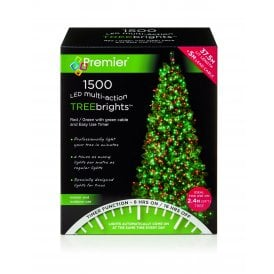 1500 Red and Green LED Treebrights with Multi Action Facility and Timer Function