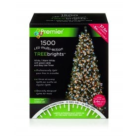1500 White & Warm White LED Treebrights with Multi Action Facility and Timer Function