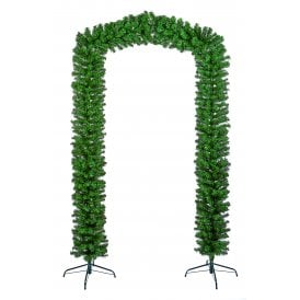 2.4m Artificial Green Single Tree Arch
