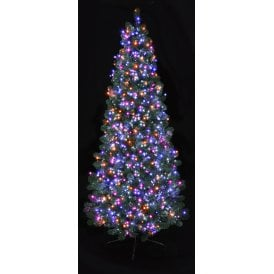 2000 Pink, Purple, Orange and Turquoise LED Treebrights with Multi Action Facility and Timer Function