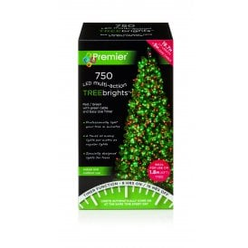 750 Red and Green LED Treebrights with Multi Action Facility and Timer Function