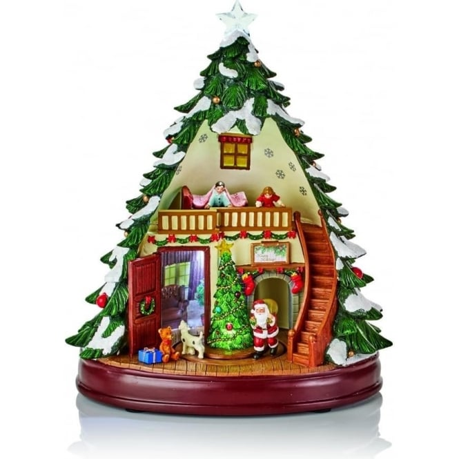 Christmas Tree Shop Waterford Ct Hours: Premier Decorations Battery Operated Lit Animated Musical