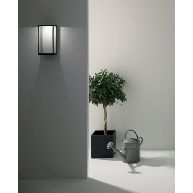 Astro Lighting Puzzle LED Outdoor Wall Fitting in Black Finish