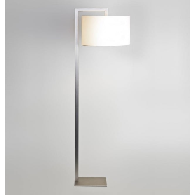 Astro Lighting Ravello Single Light Floor Lamp In Matt Nickel Finish