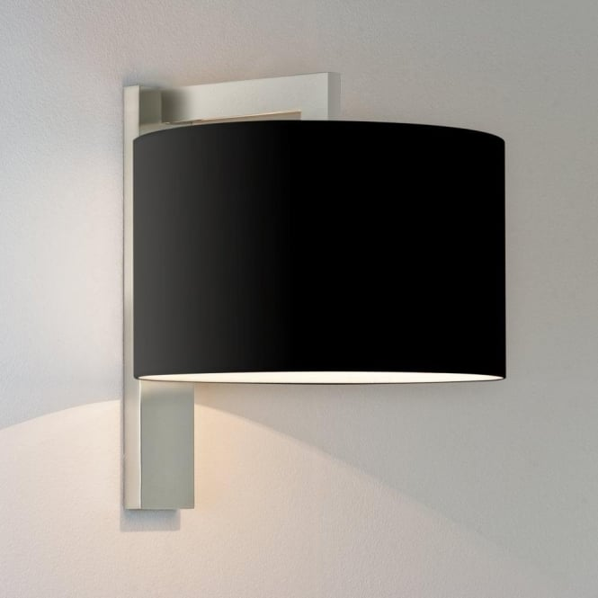 Astro Lighting Ravello Single Light Wall Fitting In Matt Nickel Finish