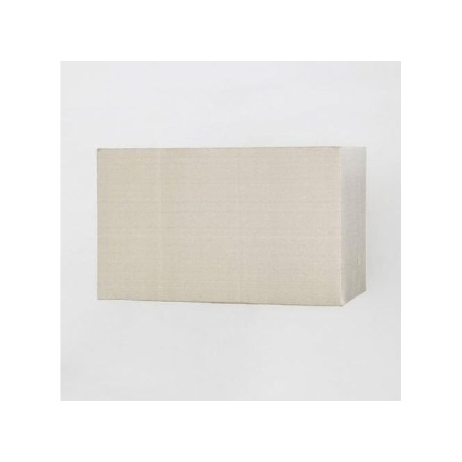 Astro Lighting Rectangular Oyster Coloured Fabric Box Shade Ideal for Wall Fittings and Table Lamps