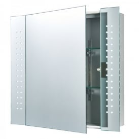 Revelo LED Bathroom Cabinet Mirror With Motion Sensor And Built In Shaver Socket