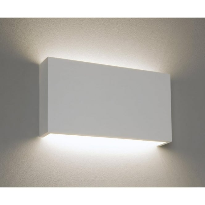 Astro Lighting Rio 35 LED Single Light Ceramic Wall Fitting In White Finish