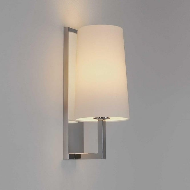 Astro Lighting Riva Single Light Bathroom Wall Fitting In Polished Chrome Finish
