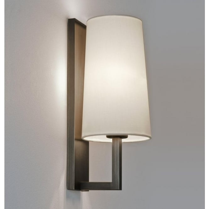 Astro Lighting Riva Single Light Wall Fitting In Bronze Finish