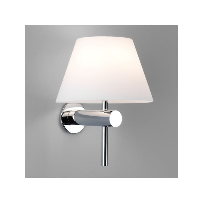 Astro Lighting Roma Single Light Bathroom Wall Fitting in Polished Chrome Finish