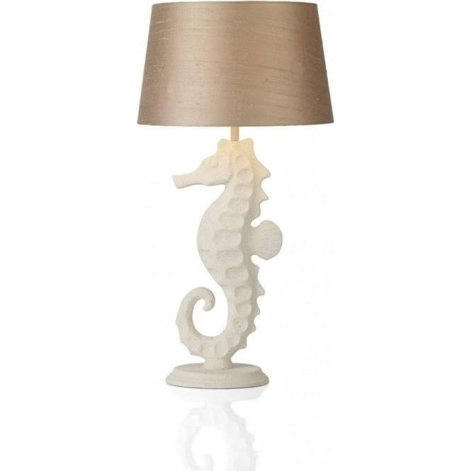 David Hunt Lighting Sayer Single Light Table Lamp with a Stone Effect Finish