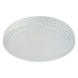 0546-50 Remote Control LED Flush Ceiling Fitting