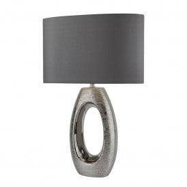 1213CC Artisan Single Light Table Lamp with Chrome Finish