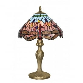1287 Dragonfly Tiffany Table Lamp