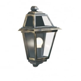 1523 New Orleans Black/gold Finish Wall Light
