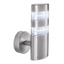 5308 India LED Outdoor Wall Fitting In Stainless Steel Finish