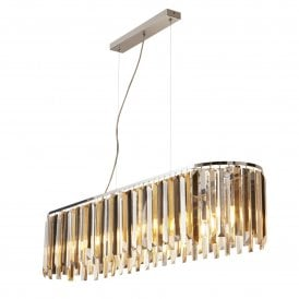 9838-8CC Clarissa 8 Light Ceiling Pendant in Polished Chrome Finish