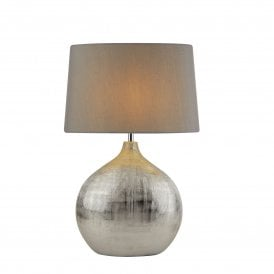 Artisan Single Light Table Lamp with Chrome Finish