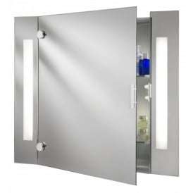 Bathroom Low Energy Mirror Cabinet With Shaver Socket