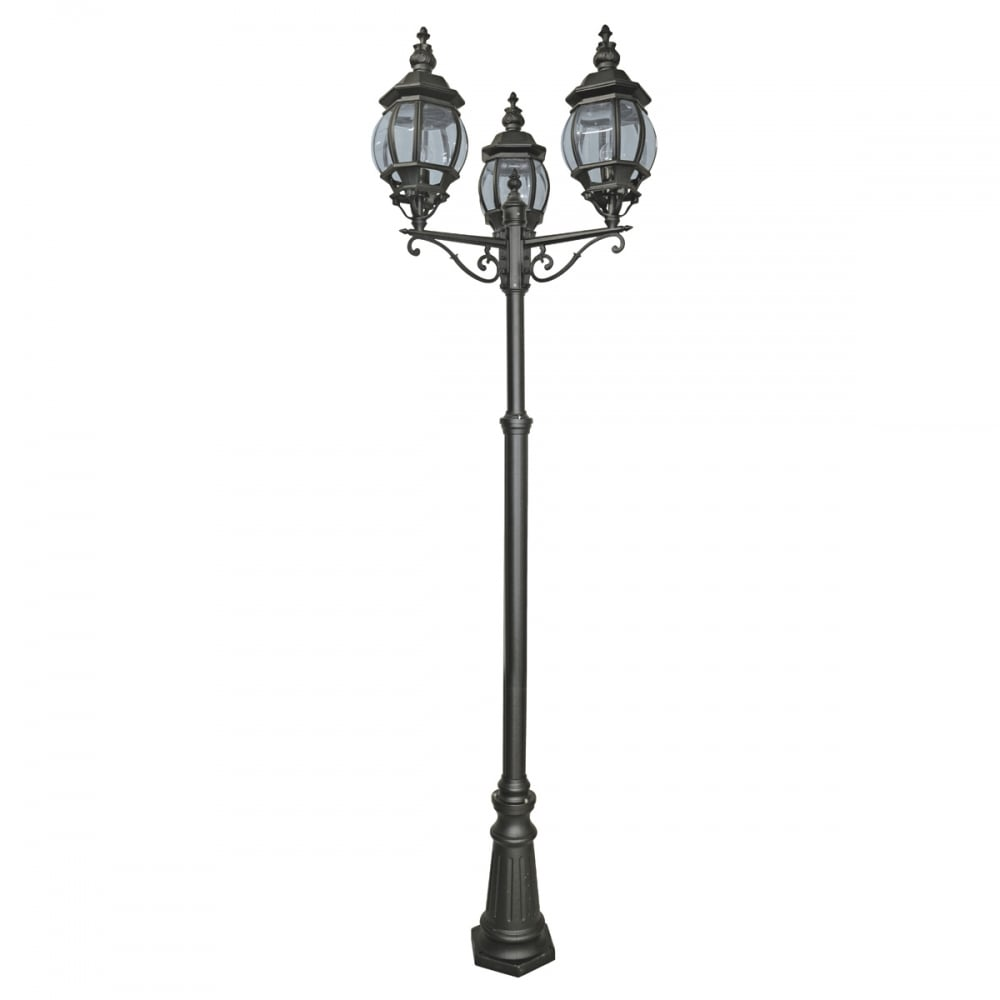 large lighting lamp lamps lights led outdoor pole top pillar genius lantern fantastic post