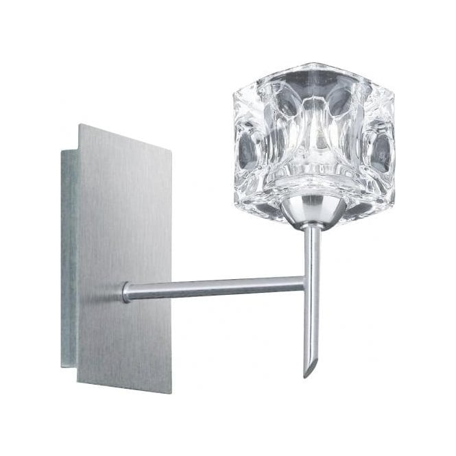 Searchlight lighting ice cube single switched halogen wall light ice cube single switched halogen wall light aloadofball Image collections