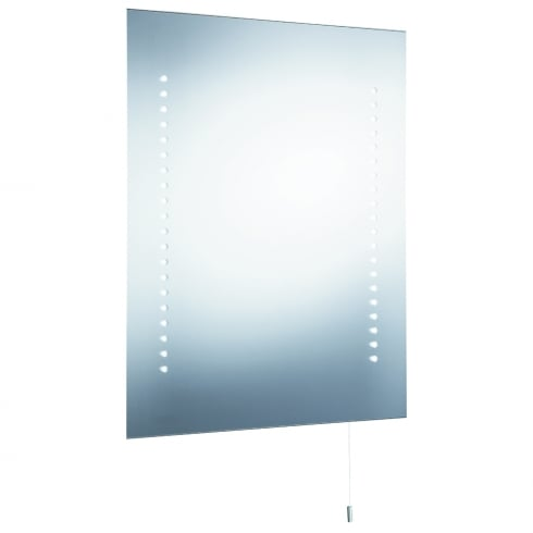 Battery operated bathroom mirror lights