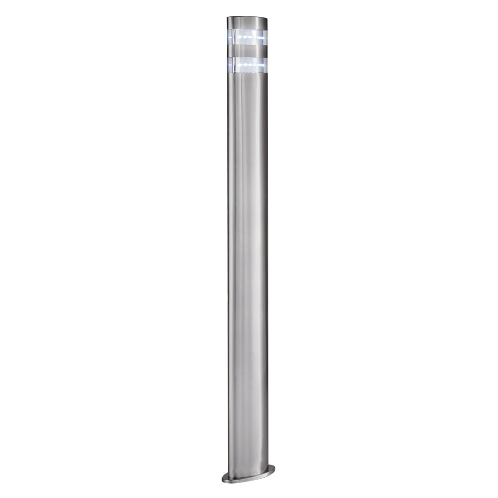 Searchlight lighting india led outdoor post light in stainless steel india led outdoor post light in stainless steel finish workwithnaturefo