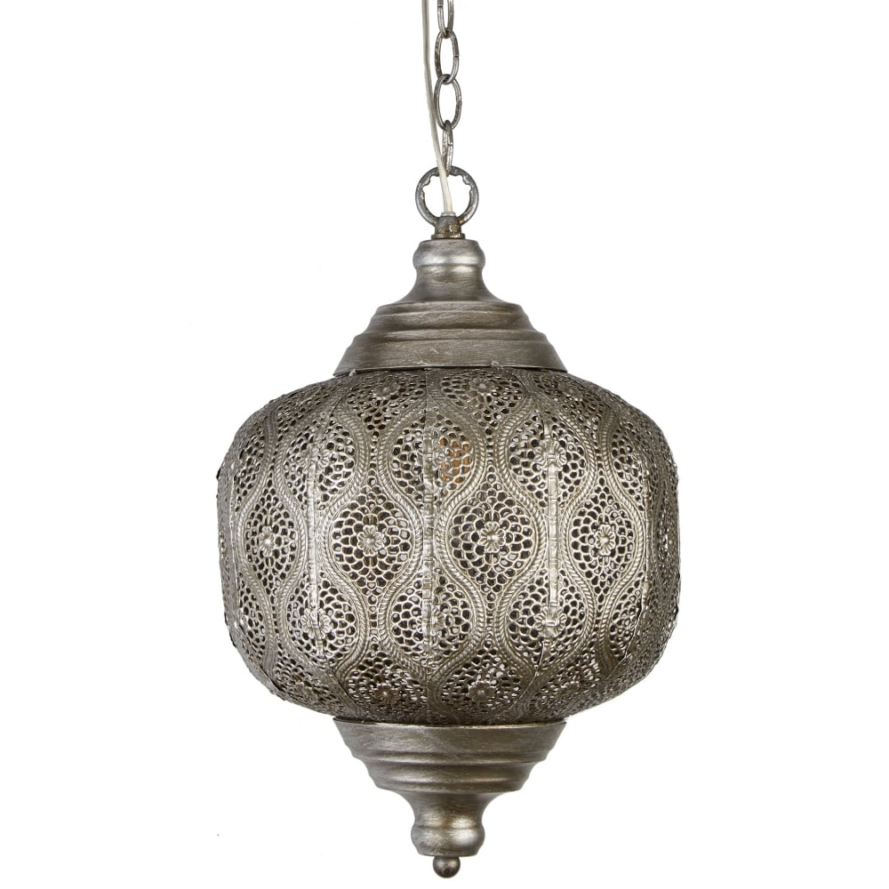 Searchlight Lighting Moroccan Single Light Ceiling Pendant ...