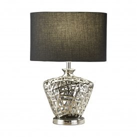 Network Single Light Table Lamp in Polished Chrome