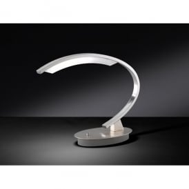 Segura/Serie 161 LED Single Light Table Lamp in Matt Nickel Finish