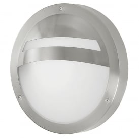 Sevilla Single Light Low Energy Outdoor Wall Fitting In Stainless Steel Finish