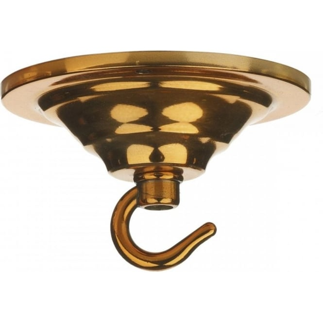David Hunt Lighting Single Hook Ceiling Plate In Copper Finish