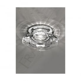 Single Light Low Voltage Recessed Bathroom Crystal Downlight