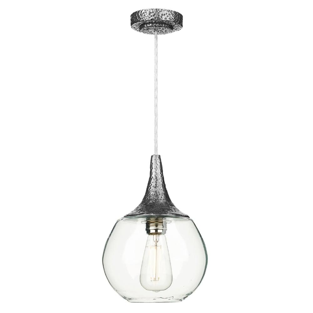 David Hunt Lighting Teardrop Single Light Ceiling Pendant