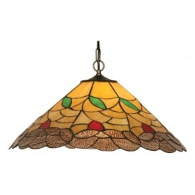 Tiffany Arum Single Light Ceiling Pendant