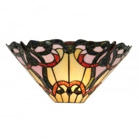 Tiffany Jayda Single Light Wall Lamp