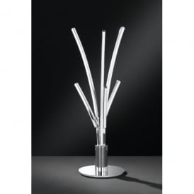 Troy/Serie 777 LED 6 Light Table Lamp in Polished Chrome Finish