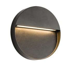 Tuscana LED Outdoor Wall Light in Black Finish