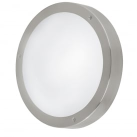 Vento 2 Light Outdoor Wall Fitting In Stainless Steel Finish