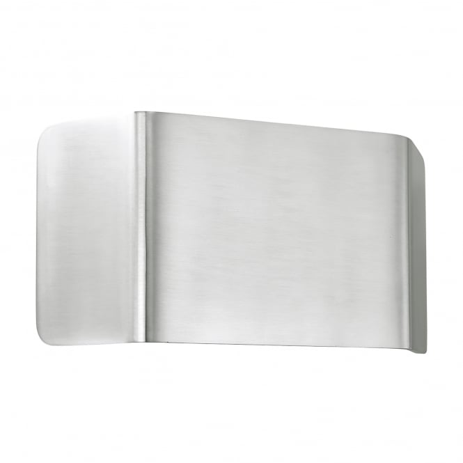 Endon Lighting Verona Single LED Dimmable Wall Fitting in Brushed Aluminium Finish