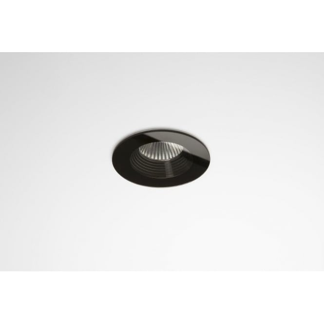 Black Finish Bathroom Lighting: Astro Lighting Vetro Single Light LED Round Recessed