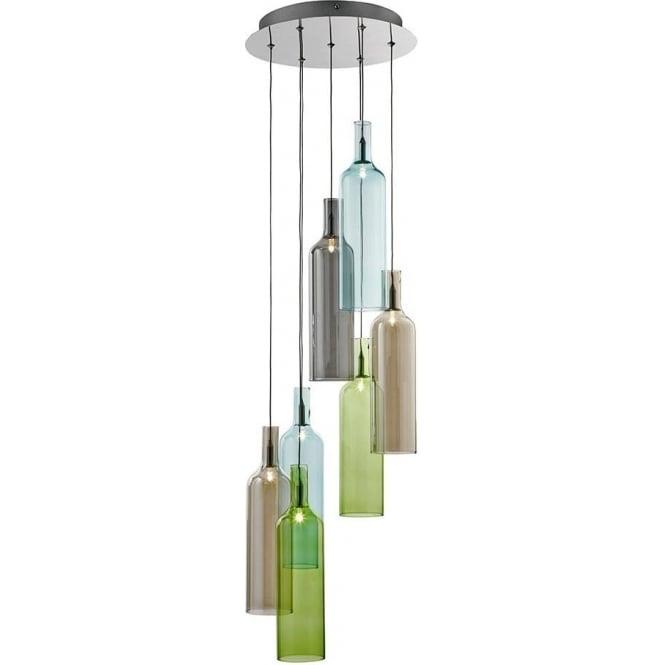 Wine bottle ceiling light best ceiling 2018 wine jug pendant light bottle lights aloadofball Choice Image